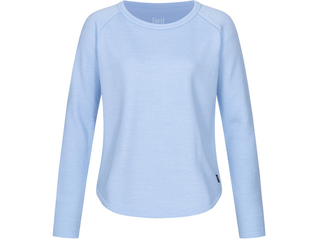 super.natural Knit Sweat-shirt de survêtement Femme, skyway melange